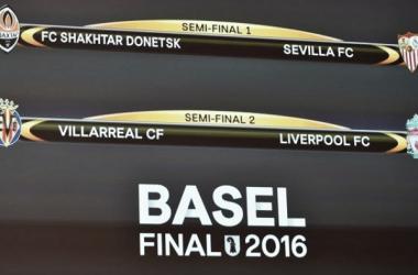 As meias finas da Liga Europa já são conhecidas | Fonte: site oficial da UEFA Europa League