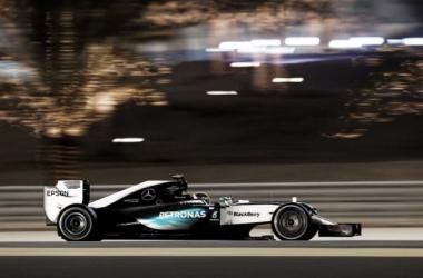 O domínio da Mercedes fez-se sentir mas a Ferrari aproxima-se cada vez mais ( foto: Mercedes)