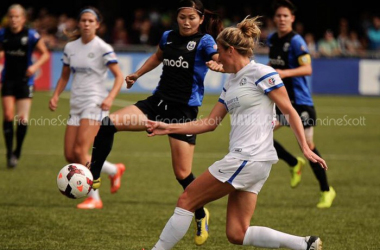 Nahomi Kawasumi with the Seattle Reign in 2014 | Francine Scott - VAVEL USA