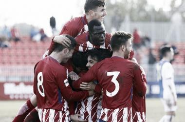 El Atlético B va como un cohete: mejor equipo del mes de enero
