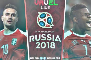 Dusan Tadic e Breel Embolo nella grafica VAVEL del match. | Andrea Mauri.
