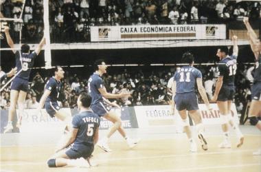 Brasil novamente é a casa do Mundial em 1990 (Foto:Divulgação/ FIVB)