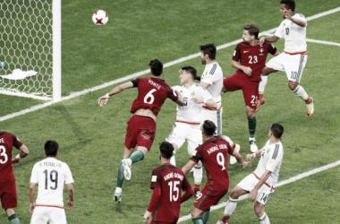 Il gol di Hector Moreno che nel recupero ha sentenziato il 2-2. | RT.com