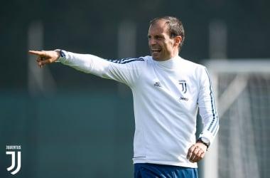 Max Allegri.   JuventusFC, Twitter.