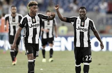 Mario Lemina e Kwadwo Asamoah, due che potrebbero lasciare la Juventus. | stadiosport.it