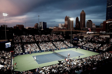 Defending champion John Isner will be challenged by many up-and-coming players, such as Nick Kyrgios and young American Taylor Fritz. Credit:MidtownATL