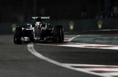 Hamilton en la vuelta rápida | Foto: Fórmula 1
