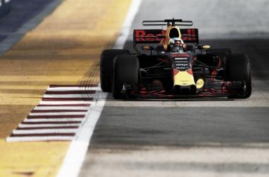 El Red Bull de Ricciardo   Foto: Fórmula 1