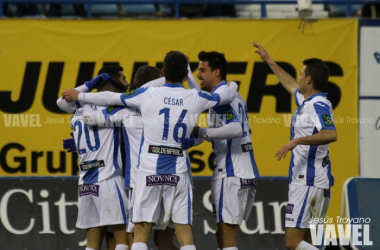 Fotos e imágenes del Leganés 2-0 Osasuna. Jornada 25, Liga Adelante