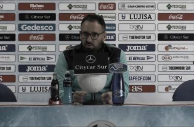 """Bordalás: """"La derrota ante el Girona nos ha hecho más fuertes"""""""