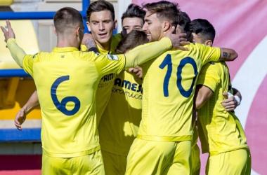 Manita de un imparable Villarreal B ante el Ontinyent