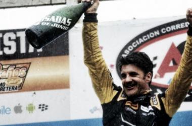 Spataro festejó en el podio | Foto: ACTC