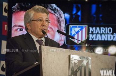"""Cerezo: """"Intentamos hacer un equipo que luche por todo lo que tiene que luchar el Atlético"""""""
