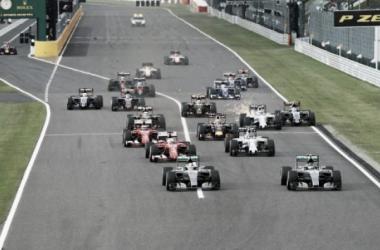 La largada del año pasado | Foto: Fórmula 1