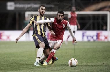 Guerreiros do Minho acreditaram e derrubaram os turcos (Fonte: Facebook oficial do SC Braga)