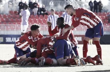 Foto: Alberto Molina - Atlético de Madrid.