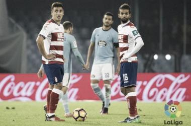 Imagen del último encuentro entre Celta y Granada en Balaídos. Foto: La Liga.