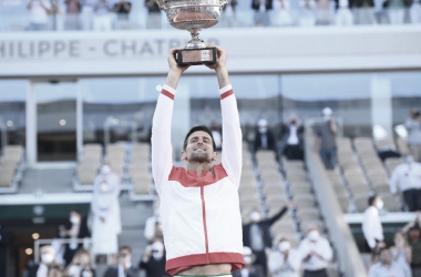 Novak Djokovic Foto Roland Garros