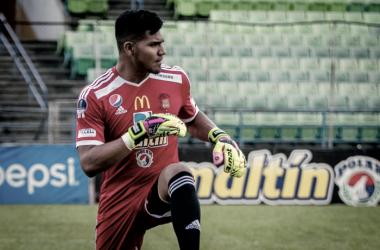 Arquero capitalino Eduardo Herrera. (Fotografía: Caracas FC)