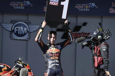 Pedro Acosta en el Gran Premio Red Bull de España 2021 / Foto: motogp.com