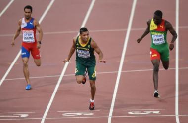 Wayde Van Niekerk remporte le 400 m, pour l'instant la course de ces Mondiaux [AFP]