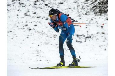 Victoire française sur ce sprint de Nove Mesto pour Quentin Fillon Maillet.