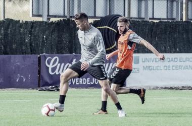 El primer equipo ha empezado hoy la vuelta al trabajo, Fotografía: Real Valladolid