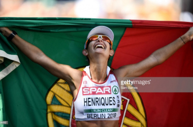 Inês Henriques campeã europeia dos 50km marcha