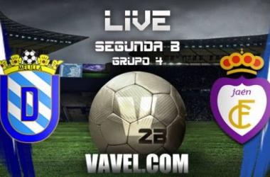 Resultado Melilla - Real Jaén en Segunda B (1-1)