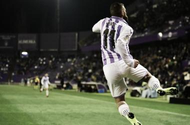 Daniele Verde, autor del tanto del empate // FUENTE: Real Valladolid
