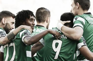 Los dirigidos por Jorge Jesus son actualmente los líderes de liga, por diferencia de goles | Foto: Sporting