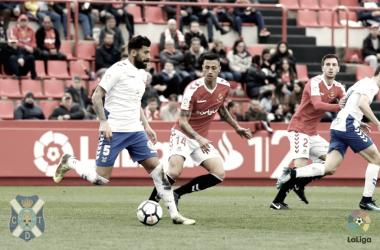 Alberto está siendo clave para el equilibrio del equipo. | Foto: CD Tenerife