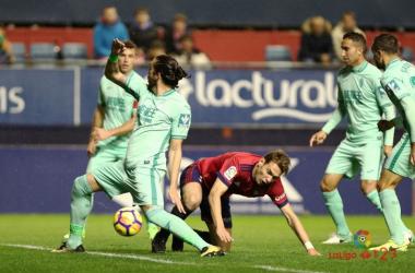 Imagen del partido de la primera vuelta. Foto: La Liga