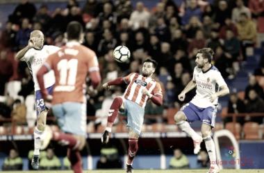 Benito y Toquero disputando un balón / FOTO: La Liga
