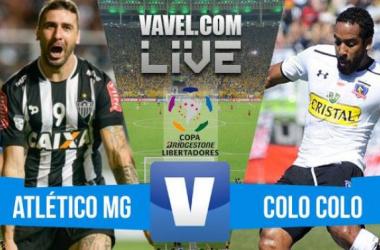 Resultado Atlético-MG x Colo-Colo na Libertadores 2016 (3-0)