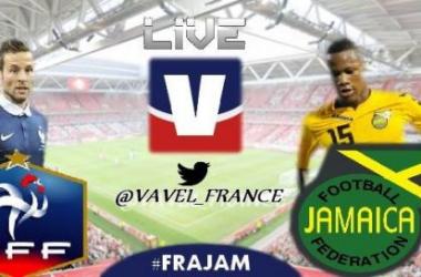 Live : France - Jamaïque en direct