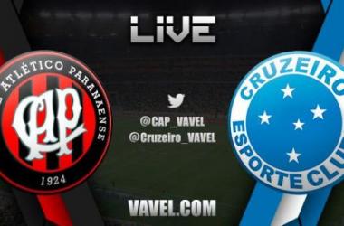 Atlético-PR x Cruzeiro, Brasileirão 2014  e