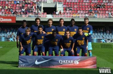 FC Barcelona B - CD Lugo: puntuaciones del FC Barcelona B, jornada 7 de Liga Adelante