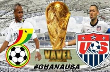 Live Coupe du Monde 2014 : Ghana - Etats-Unis en direct