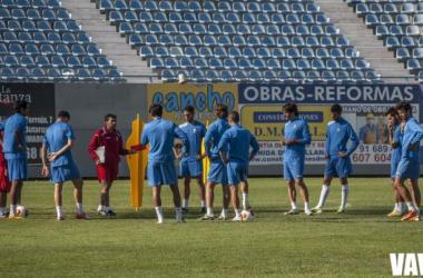 El Lega en un entrenamiento. Foto: VAVEL