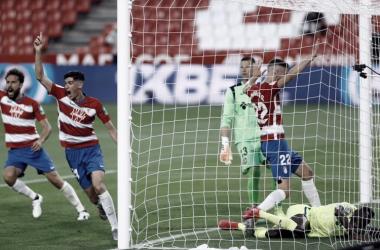 Granada sai atrás, mas vira sobre Getafe na volta do Campeonato Espanhol