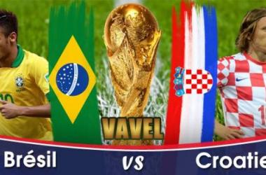Live Coupe du Monde 2014 : Brésil - Croatie en direct