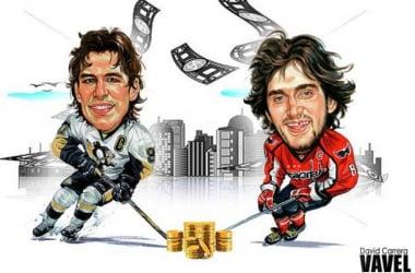 Sidney Crosby y Alex Ovechkin   Fotomontaje: NHLVAVEL / David Carrera