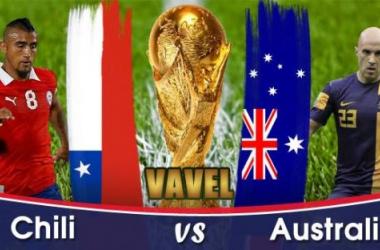 Live Coupe du Monde 2014 : Chili - Australie en direct