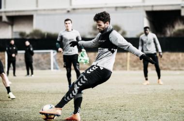 El Pucela regrasa a los entrenamientos. Fotografía: Real Valladolid