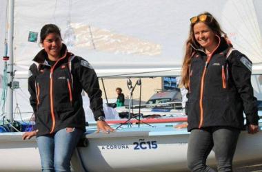 Sofía Toro y Laura Sarasola. (Imagen: página oficial Sofía Toro Sailing Team)
