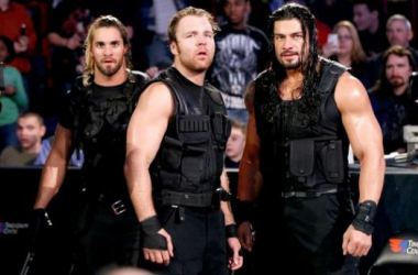 Seth Rollins, Dean Amrbose and Roman Reigns 'The Shield'. Photo credit: WWE.com