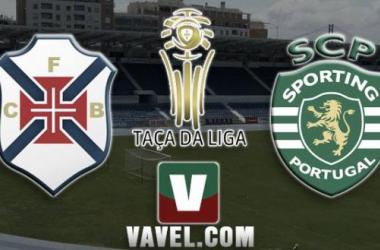 Resultado Belenenses - Sporting de Portugal en la Taça da Liga 2015 (3-2)