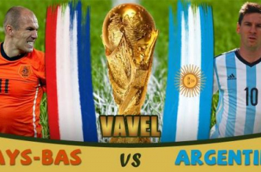 Live Coupe du monde 2014 : le match Pays-Bas - Argentine en direct