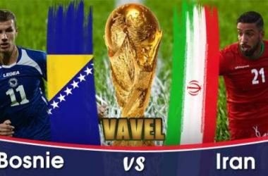 Live Bosnie Herzégovine - Iran, la Coupe du Monde 2014 en direct